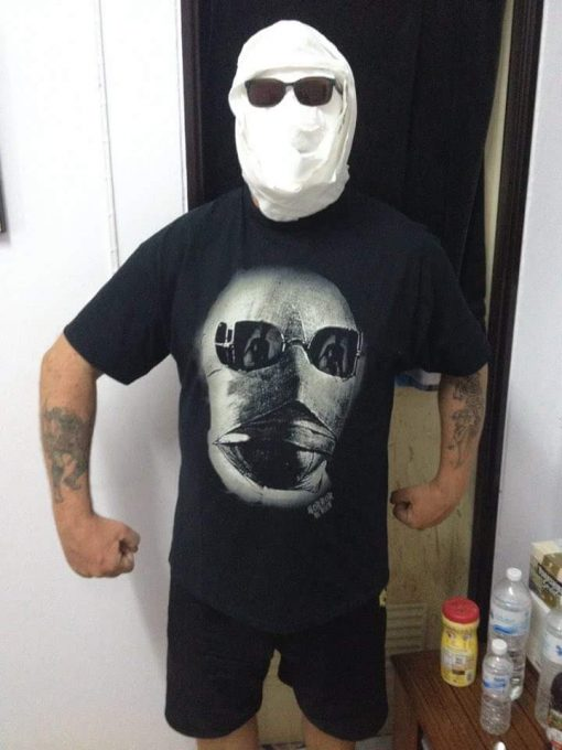Invisible Man in an Invisible Man T