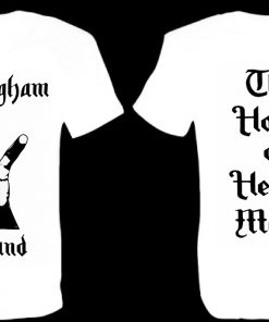 Birmingham England front and back white T