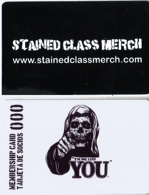 SCM Membership Card