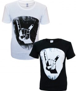 Men's Plectrum T black and white