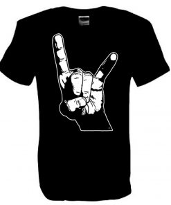 Men's Original Horns black T