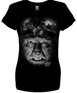 ladies' Wolf Man T