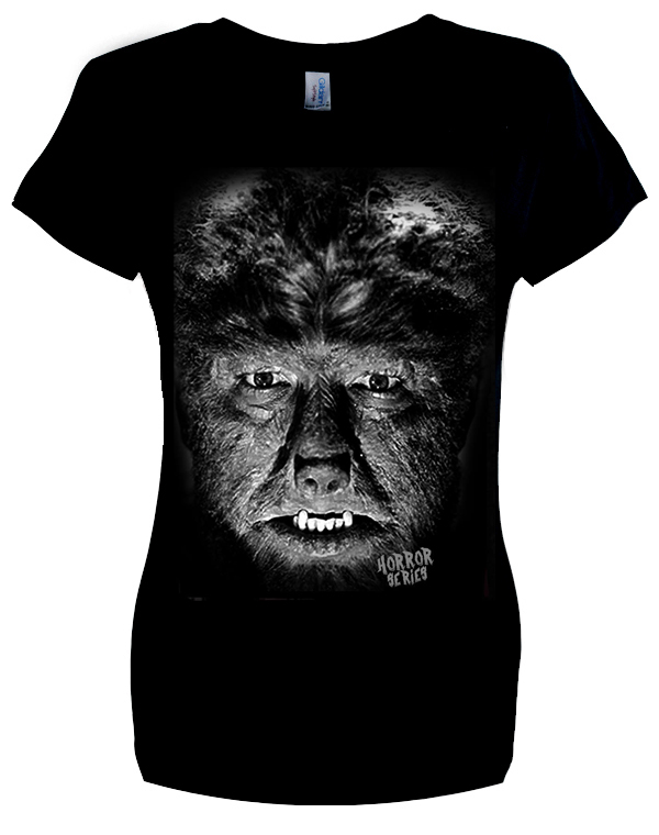 ladies' Wolf Man T